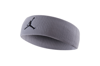 Jordan Jumpman Headband Sports Gym/Running Fitness Yoga Sweat/Head Band Grey