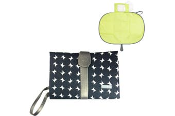 JJ Cole Baby Nappy/Diaper Changing/Change Clutch/Mat/Foldable Pad/Handbag/Wallet