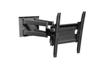 "32~75"" 70kg Universal Wall Mount Bracket 2 Arm Tilt Swivel Fits Most LCD LED TV"