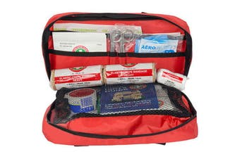 Essentials Emergency First Aid Kit Treatment Car/Travel Compact Medical Survival