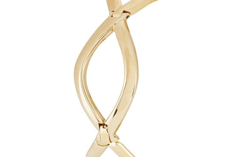 Calvin Klein Women's 30mm Enlace Stainless Steel Round Wrist Watch Gold