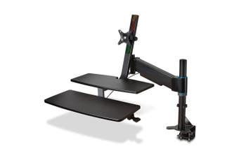 Kensington SmartFit Adjustable Sit/Stand Home/Office Monitor Mount Workstation