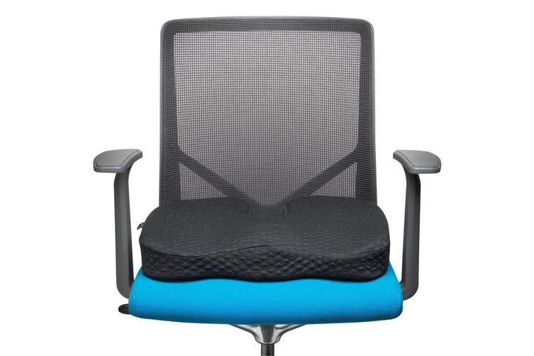 Kensington Premium Cool Gel Memory Foam Seat Pillow Chair Cushion f/ Home/Office