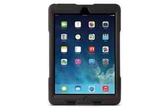 Kensington Black BlackBelt 2nd Degree Rugged Case w/ Stand/Strap for iPad Air