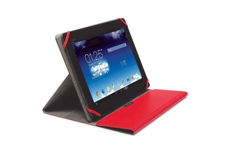 "2x Kensington Red Comercio Fit Folio Cover/Case Protector for 9-10"" Tablets/iPad"