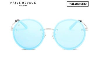 Prive Revaux The Musician Men/Women Mirror Round Fashion Eyewear Sunglasses Blue