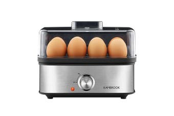 Kambrook Electric Culinary 3 Way Egg Cooker/Poacher/Steamer/Omelette Maker Black