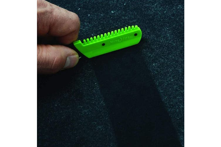 2x Nite Ize DoohicKey Clip-On Dog/Cats Hair/Lint Remover Cleaning f/ Clothes GRN