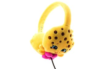 Shopkins Plush Kids Headphones/Headband for Audio/DVD/MP3/iPad Kooky Cookie