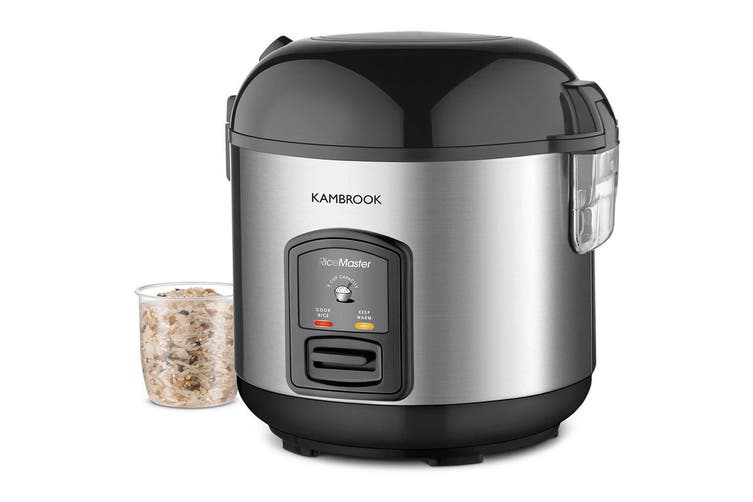 Kambrook Rice Master Electric 5 Cup Rice Cooker/Steamer Serving Spoon/Measuring