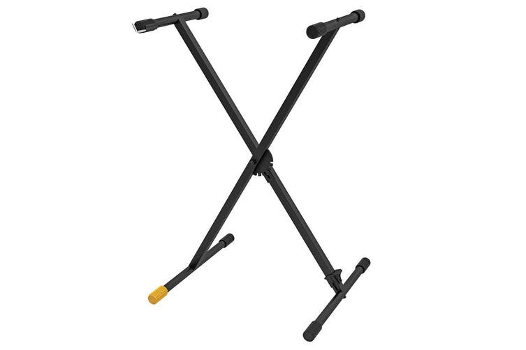Hercules EZ Step Single X Stand Musical Instrument Holder for Keyboard/Piano BK