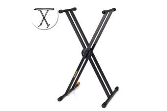 Hercules Ez-Lok Double Braced X Foldable Music Stand/Holder for Keyboard/Piano