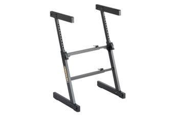 Hercules Adjustable Autolock Z Type Music Piano/Keyboard Stand/Holder/Rack Black