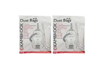 10x Kambrook Jaguar Vacuum Cleaner Dust Bags for KVC12/15/16/1200/1300/1500/1100