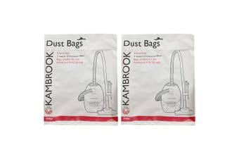 10x Kambrook Jaguar Vacuum Cleaner 2ply Dust Bags for KVC20 w/ Protection Filter