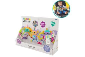 Lamaze Monkey Links Baby/Infant/Newborn Toy/Play Hanger for Car Seat/Stroller