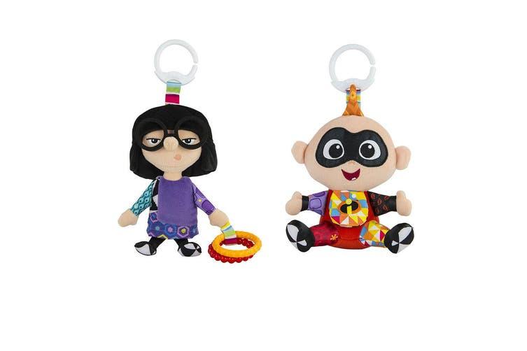 Lamaze Clip & Go Incredible Edna/Jack-Jack Baby/Infant/Newborn Plush Soft Toy