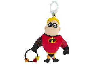 Lamaze Clip & Go Mr Incredible Baby/Infant/Newborn Plush Soft Toy/Disney/Pixar