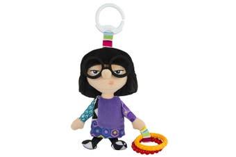 Lamaze Clip & Go Incredible Edna Baby/Infant/Newborn Plush Soft Toy/Pixar 0m+