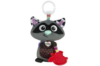 Lamaze Clip & Go Incredible Raccoon Baby/Infant/Newborn Plush Soft Toy/Pixar