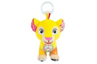 Lamaze 18cm Lion King Clip & Go Baby/Infant Activity Teether Bags Toy 0m+ Nala