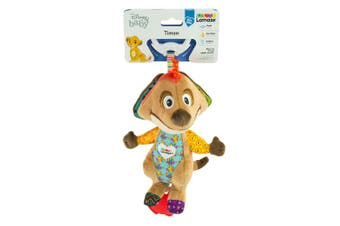 Lamaze 21cm Lion King Clip & Go Baby/Infant Activity Teether Toy 0m+ Timon