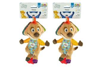 2PK Lamaze 21cm Lion King Clip & Go Baby/Infant Activity Teether Toy 0m+ Timon