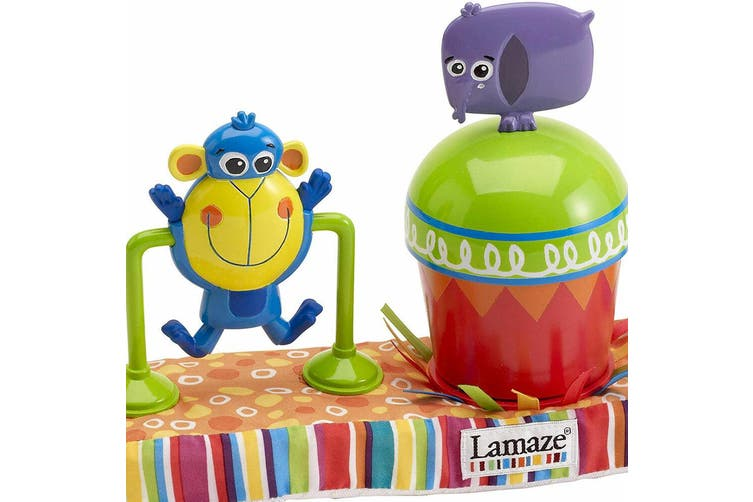 Lamaze Stroll & Go Fun Baby/Infant 6m+ Activity Play Toy Bar High Chair/Stroller