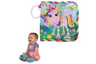 Lamaze Tilly Twinklewings Baby Cloth Book Interactive Touch/Feel Toy w/ Clip