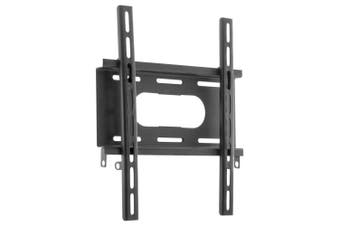 "Doss Medium LCD LED 35kg 42"" TV Wall Mount Vesa Bracket Universal Fixed Flat BLK"