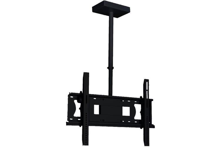 """Doss Universal LCD LED Plasma Ceiling Tilt TV Bracket w/ 360 Swivel 75""""/75kg"""