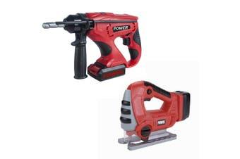 Gem Toys Little Helper Electric Building Power Tool Jigsaw/Drill Children 3y+
