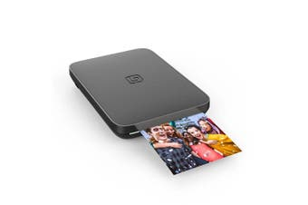 Lifeprint 3x4.5 Instant Wifi/Bluetooth Photo/Video Printer f/ iOS/Android Black