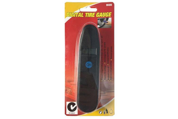 Wheelie Digital Tyre Pressure Gauge Car/Truck/Bus/Motorbike Vehicle Wheel Safety