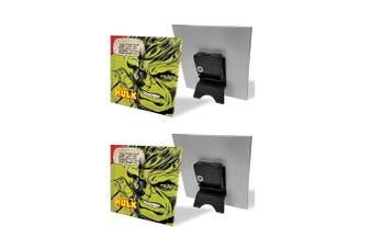 2PK Hulk Analogue Glass Desk Clock Analog Display Character Table Home Decor GRN