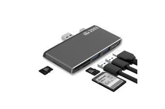 Mbeat Edge Pro P78 Multifunction USB Hub/Adapter f/Microsoft Surface Pro Gen 5/6