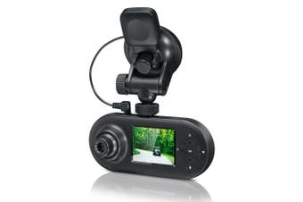 Motorola Dual Lens Front/Rear Car Dash Cam Camera Full HD 1080P/Wifi/GPS Tracker
