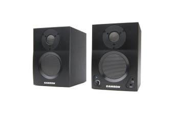 Samson BT3 Bluetooth Studio Monitors 30W RMS 2 Way Active Audio Speakers Black