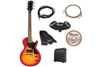 Maestro by Gibson Electric Guitar Cutaway Cherry Sunburst/Amp Amplifier Speaker