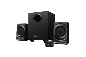 Creative Sound BlasterX Kratos S5 Gaming 2.1 Speaker Sound/USB Computer Black