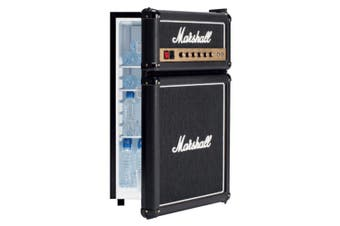 Marshall 92L Bar Fridge Beverage/Drink Cooler w/Black Speaker Guitar Amp Design