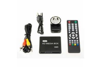 Wintal 1080P Portable Mini HD Multimedia Player w/ Remote/Card Reader/HDMI/USB