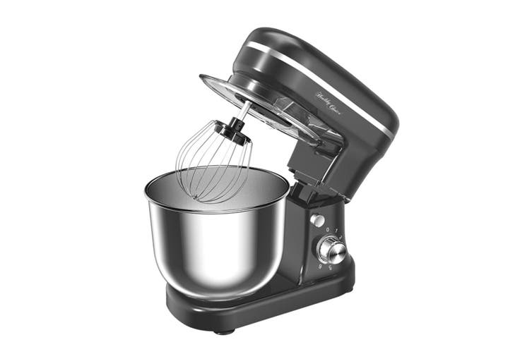 Healthy Choice Electric 1200W Mix Master 5L Stand Mixer w/Bowl/Whisk/Beater BLK