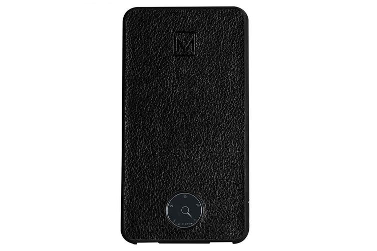 Moyork Watt Leather 6000mAh Dual USB Power Bank Universal External Battery Black