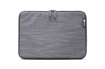 "Booq MSL12-GRY Mamba Sleeve 12"" Macbook Case/Folio Jute/Plush Protective Grey"