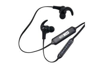 Altec Lansing Sport Waterproof Bluetooth Earphones In Ear Headphones w/ Mic BLK