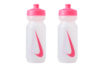 2x Nike Big Mouth 650ml Bottle 2.0 Sports Water Drink BPA Free Container Pink