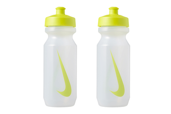 2x Nike Big Mouth 650ml Bottle 2.0 Sports Water Drink BPA Free Container Green