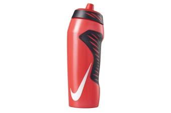 Nike 710ml Hyperfuel Water Bottle Training Hydration Sports BPA Free Red/Black