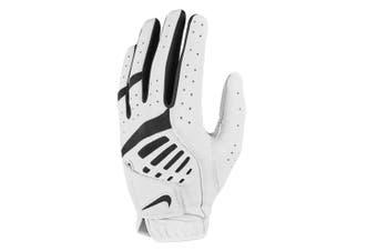 Nike Womens/Ladies IX Golf Dura Feel Training/Sports Left Handed Glove L White